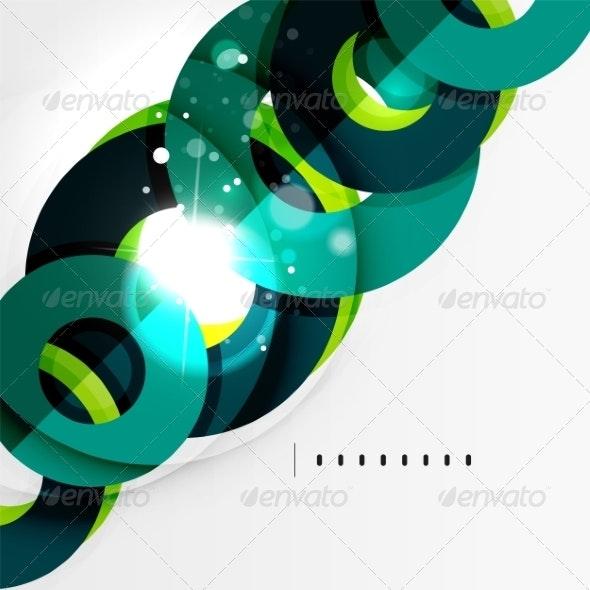 Futuristic Geometric Shapes, Minimal Design - Backgrounds Business