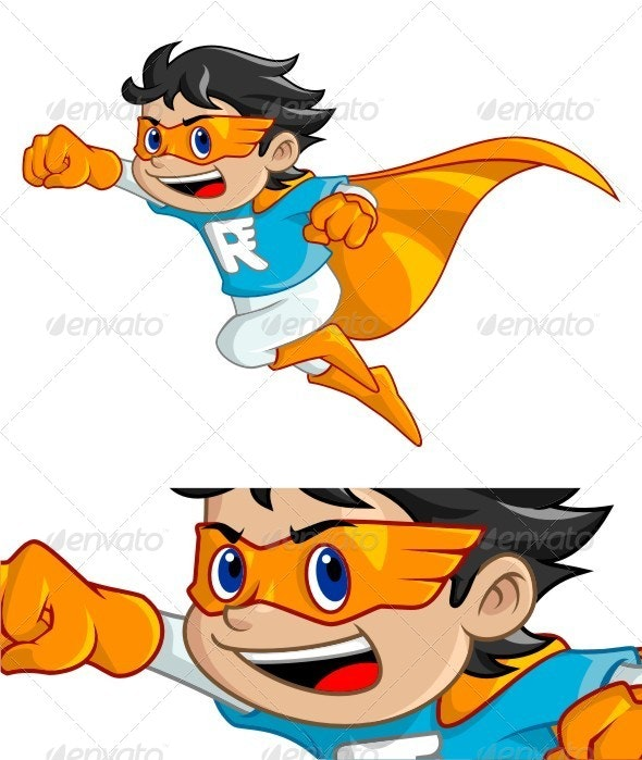Super Rush Boy - People Characters