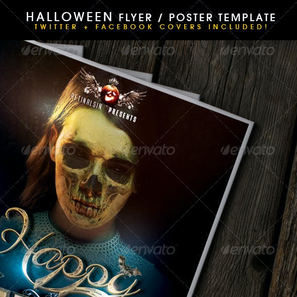 Halloween Poster + Fb-Twitter Covers