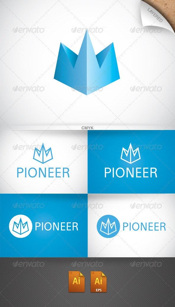 Pioneer Logo - Vector Abstract