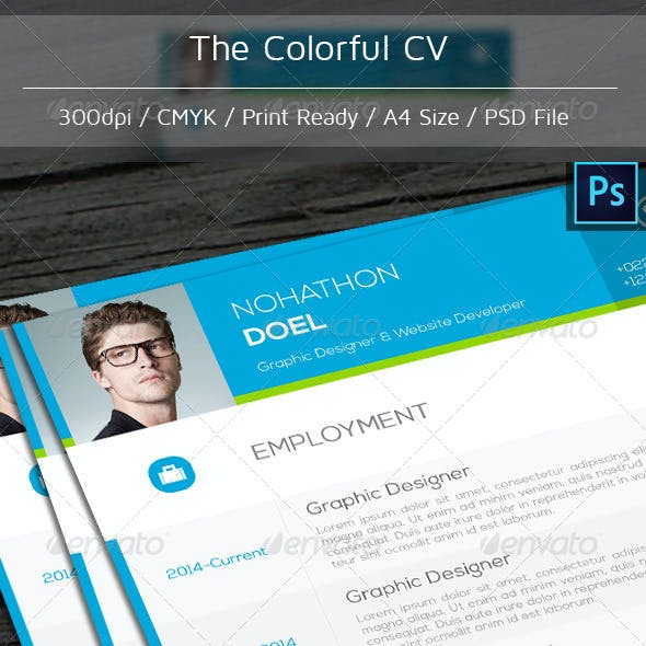 The Colorful CV