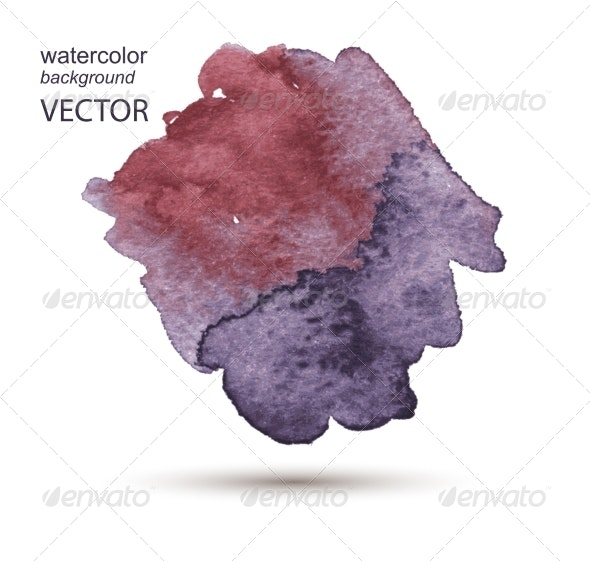 Abstract Watercolor Hand Painted Background - Backgrounds Decorative