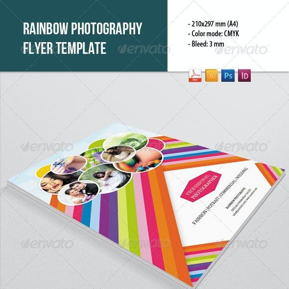 Rainbow Style Photography Flyer