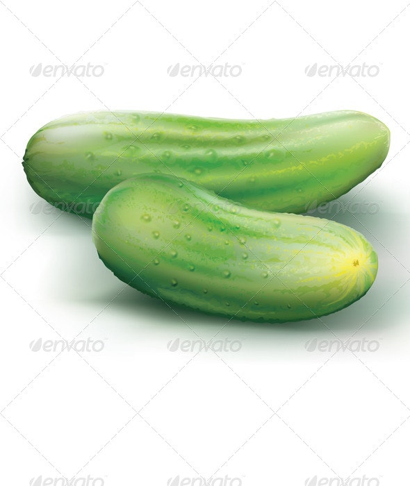 Cucumbers - Food Objects