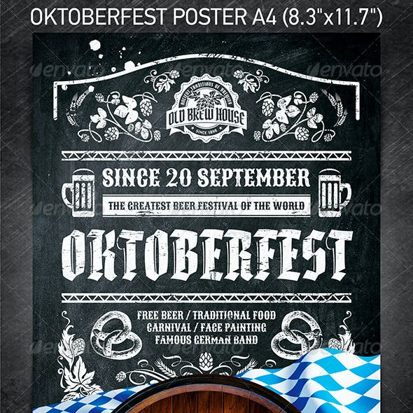 Oktoberfest Festival Poster vol.4