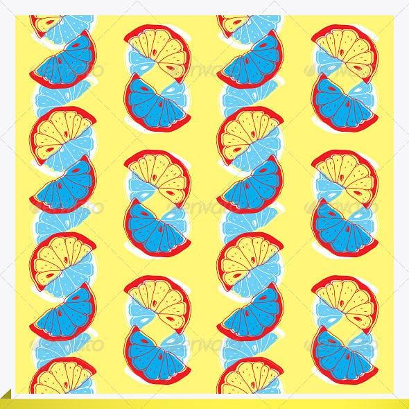 2 Seamless Citrus Patterns