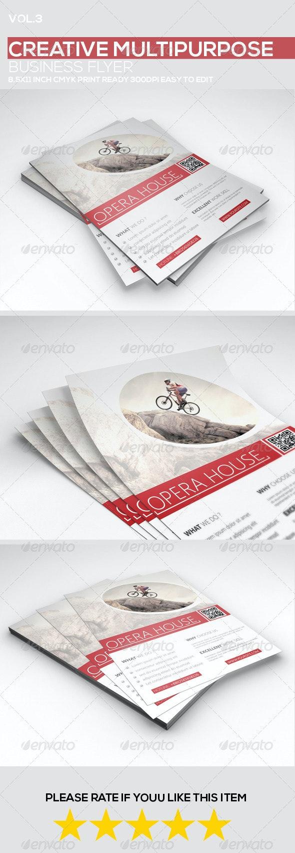 Creative Multipurpose Business Flyer vol.1 - Corporate Flyers