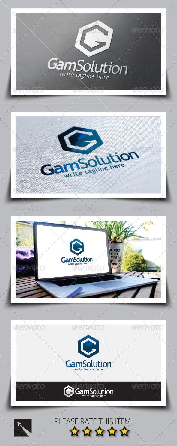 Letter (G) Logo Template - Letters Logo Templates