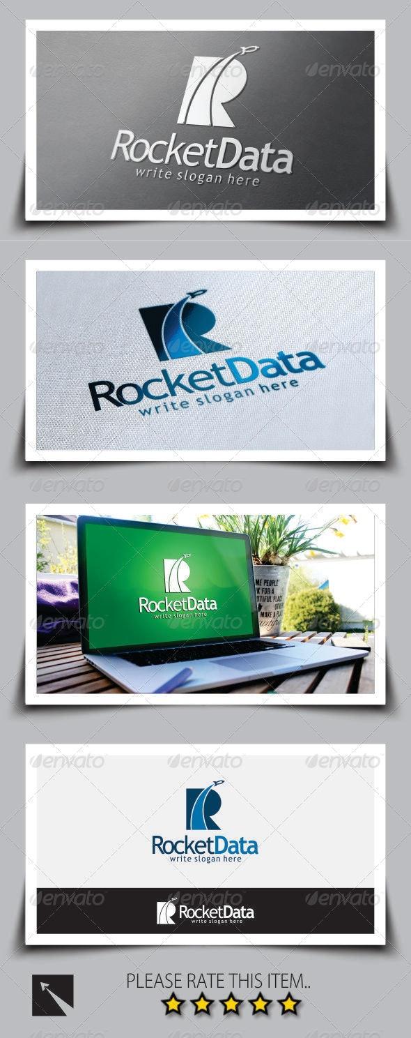 Rocket Letter (R) Logo Template - Letters Logo Templates