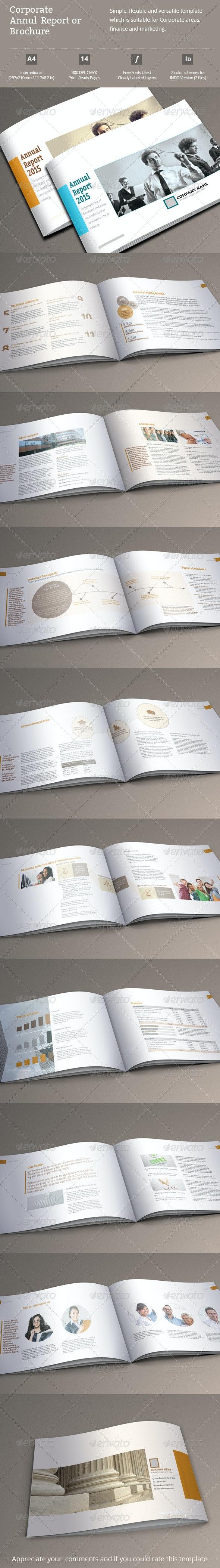 Corporate Annual Report or Brochure - Corporate Brochures