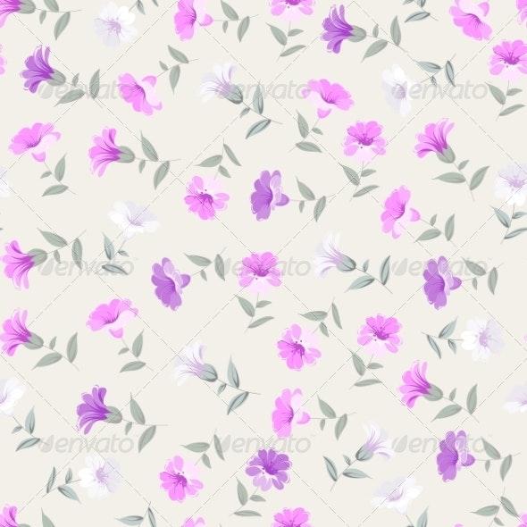 Vintage Seamless Pattern - Flourishes / Swirls Decorative