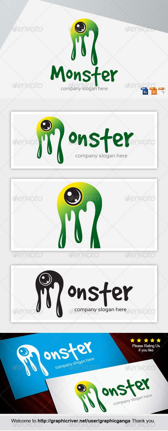 Monster - Abstract Logo Templates