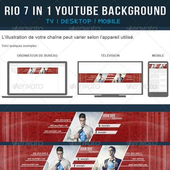 Rio 7 in 1 Youtube Background