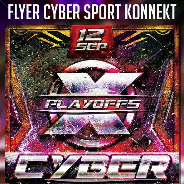 Flyer Cyber Sport Konnekt