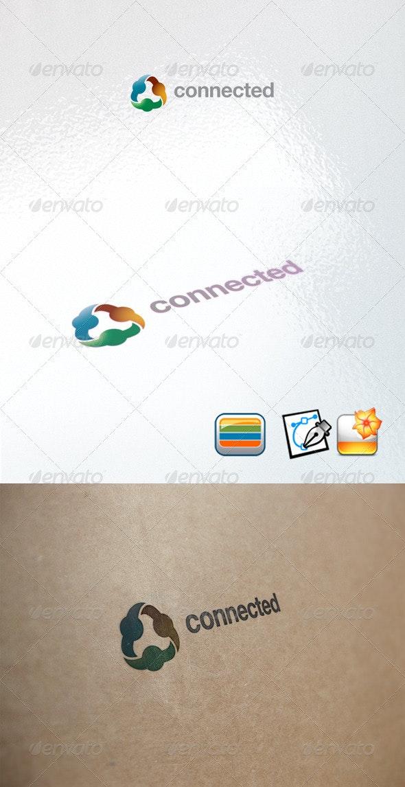 Connected Logo - Abstract Logo Templates