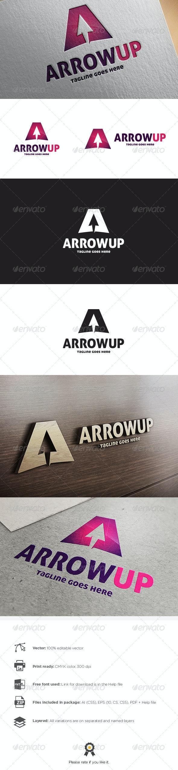 Arrow Up Logo - Symbols Logo Templates