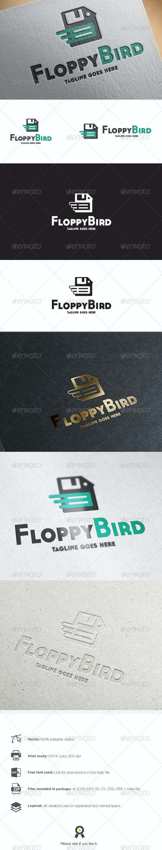 Floppy Bird Logo - Abstract Logo Templates