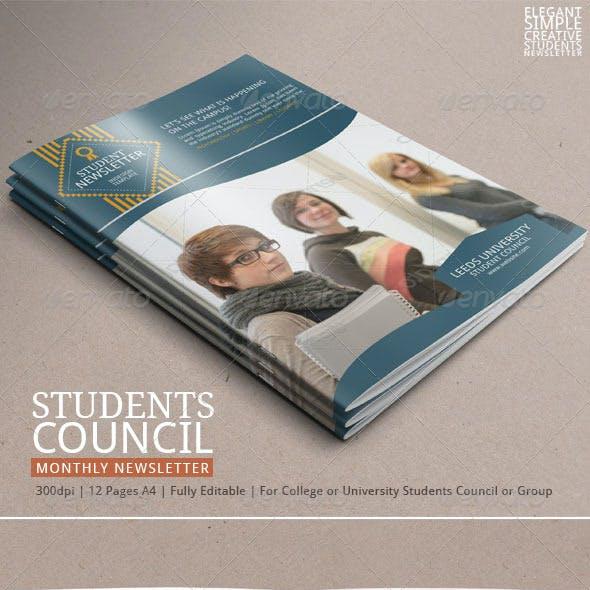 Student Newsletter Template Vol.2