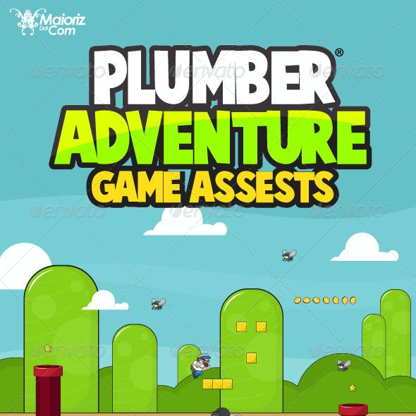Plumber Adventure Game Assets