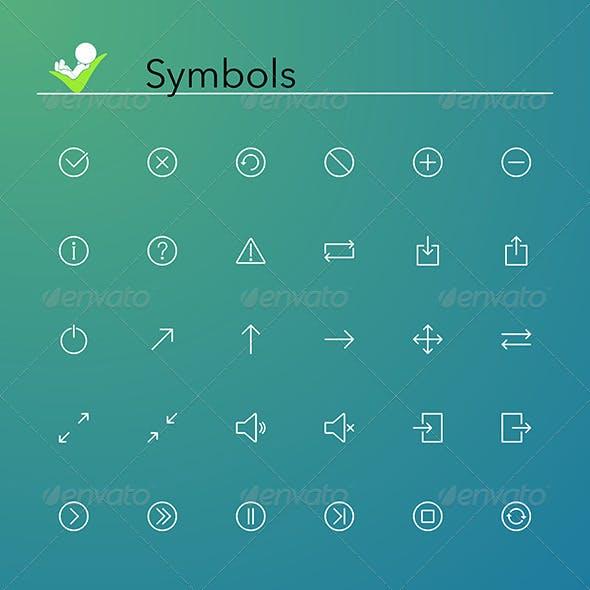 Symbols Icons