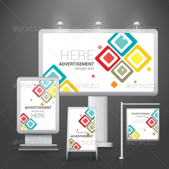 Outdoor Advertising Design - Concepts Business