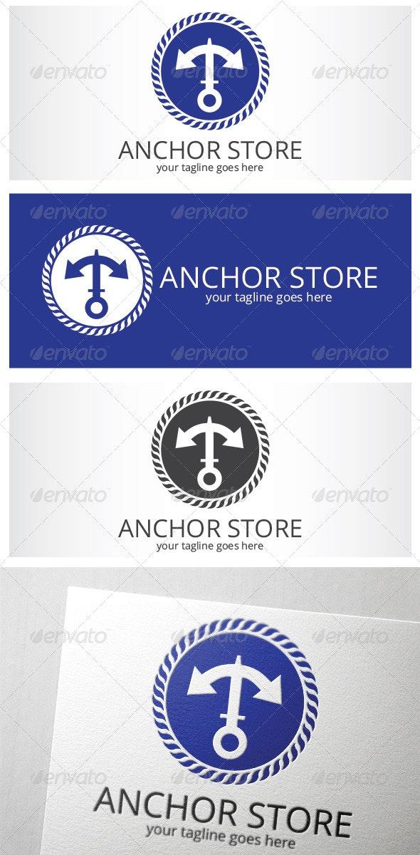 Anchor Store Logo - Logo Templates