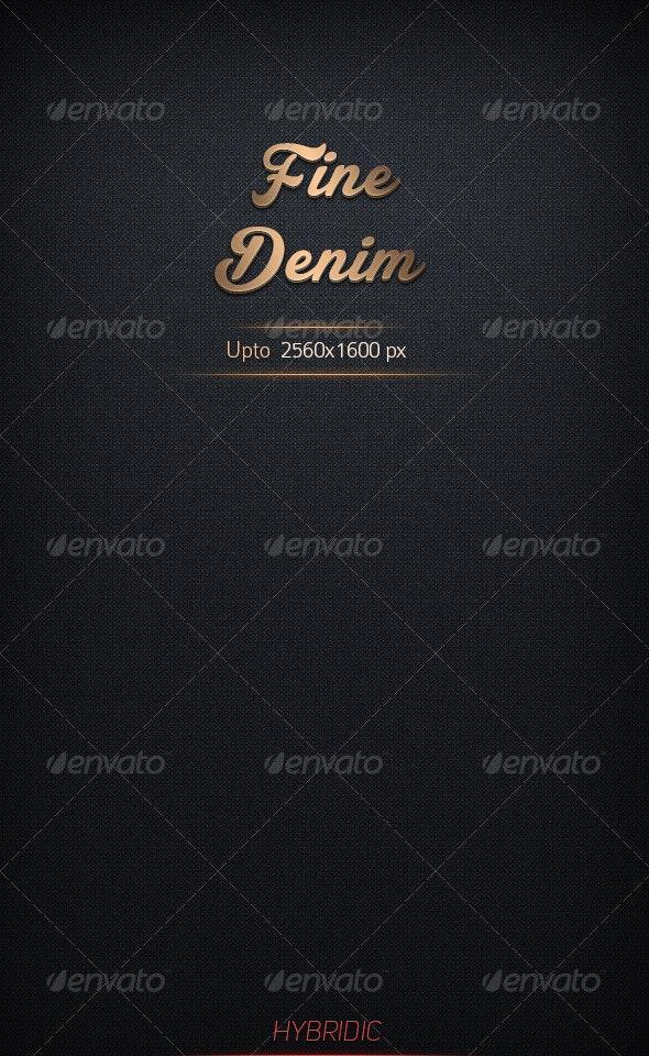 Fine Denim - Fabric Textures