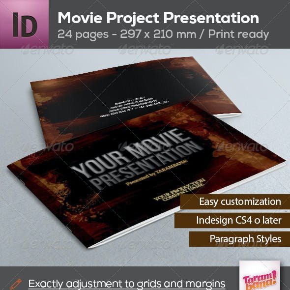 Movie Project Presentation - 24 pages