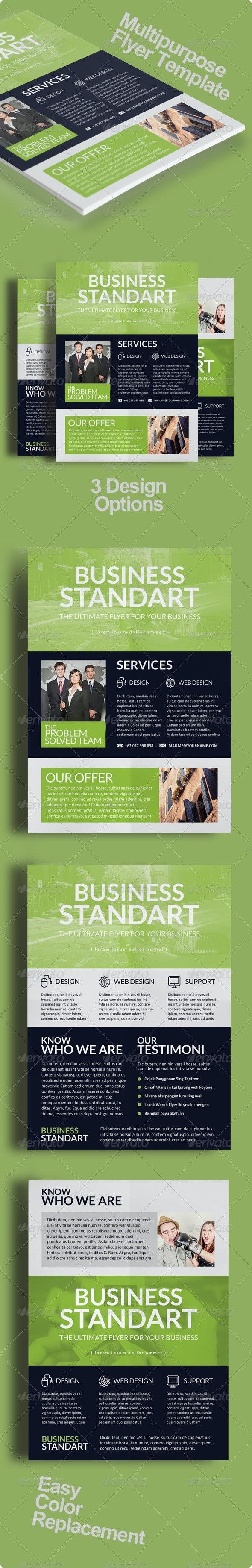 Multipurpose Business Flyer Vol. 6 - Corporate Flyers