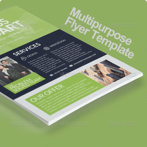Multipurpose Business Flyer Vol. 6