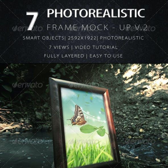 Photorealistic Frame Mock Up Vol.2
