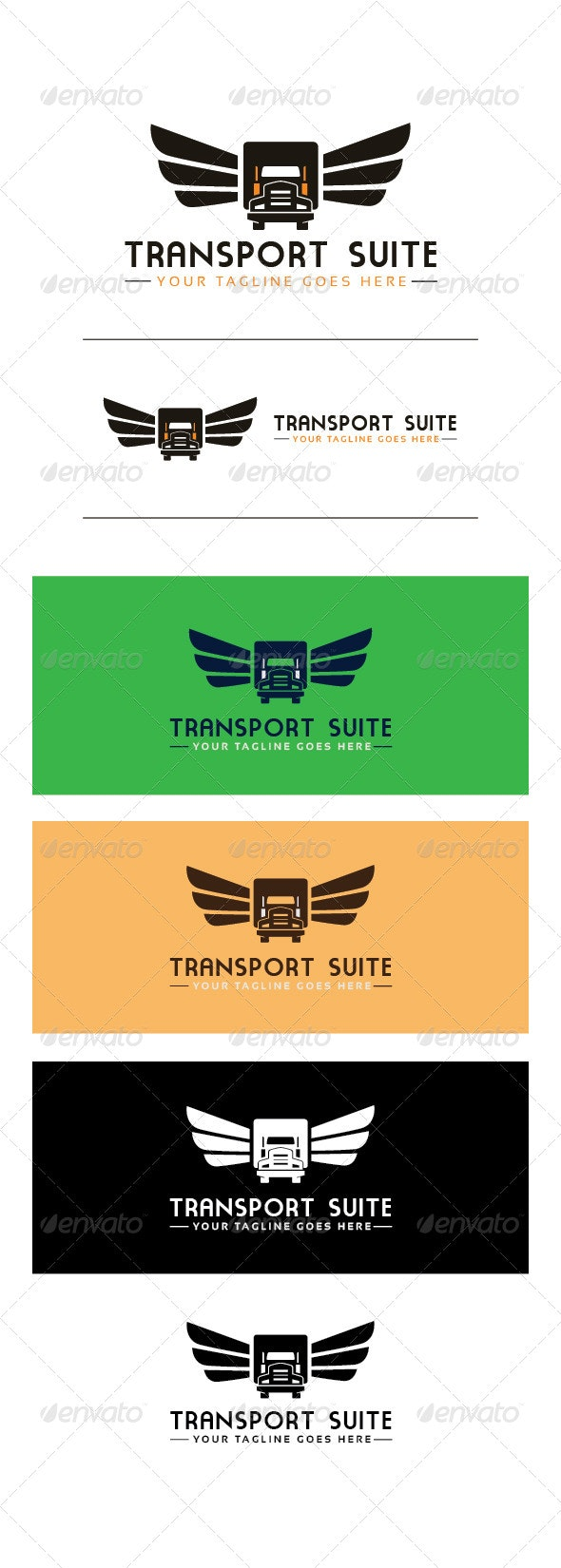 Transport Suite - Objects Logo Templates