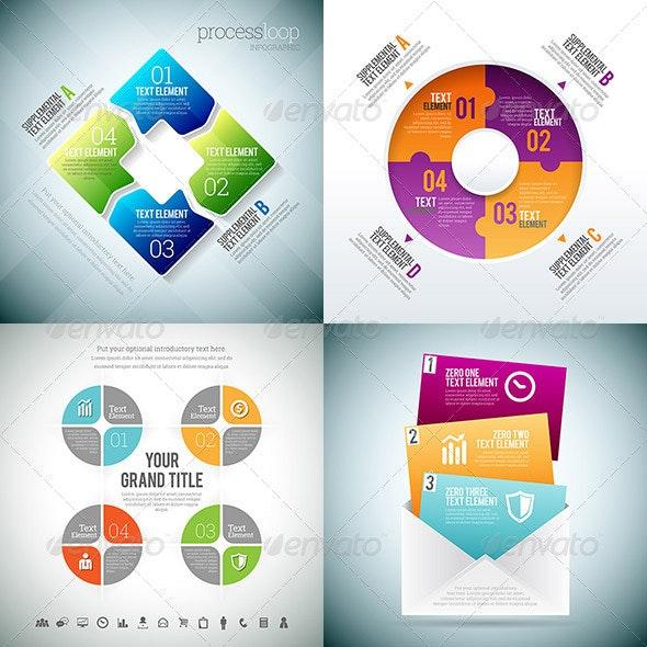 Infographic 3 Set - Infographics