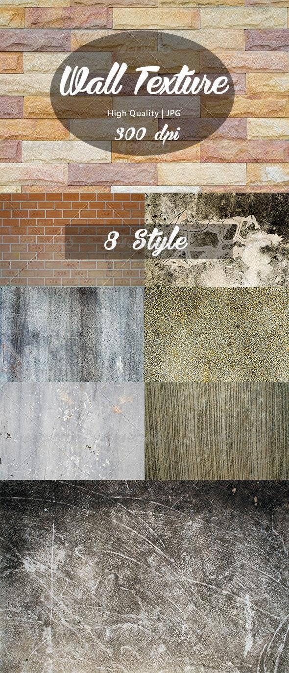 8 Wall Texture  - Textures