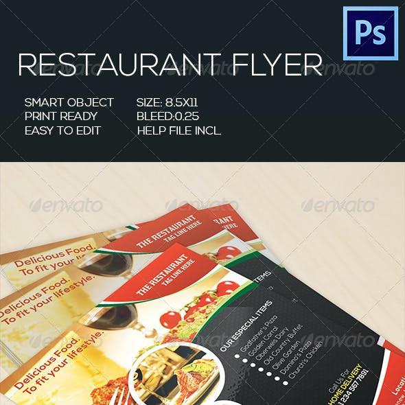 Retaurant Food Flyer