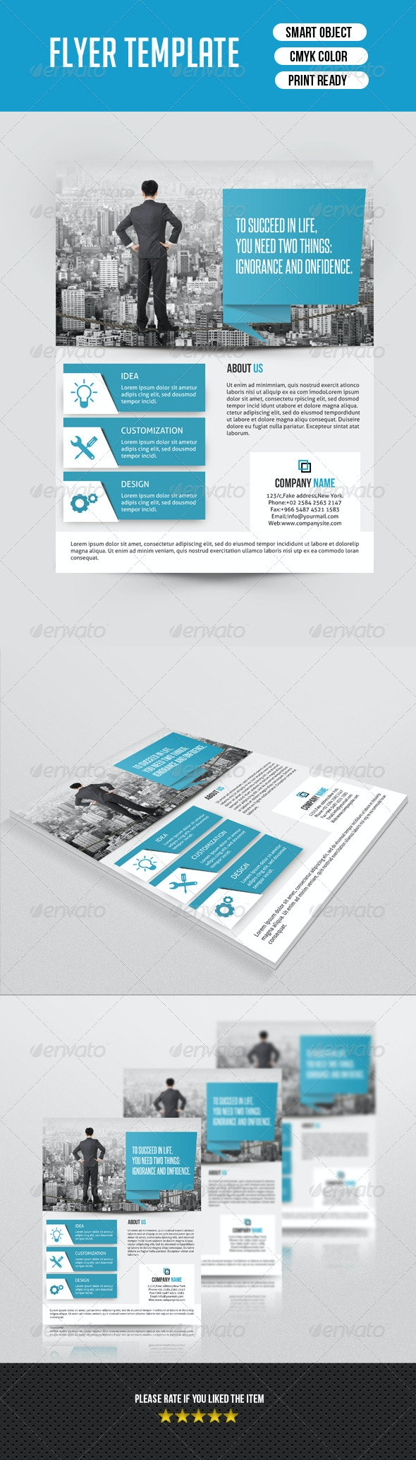 Corporate Flyer Template-V123 - Corporate Flyers