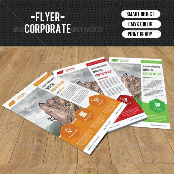 Business Flyer Template-V124