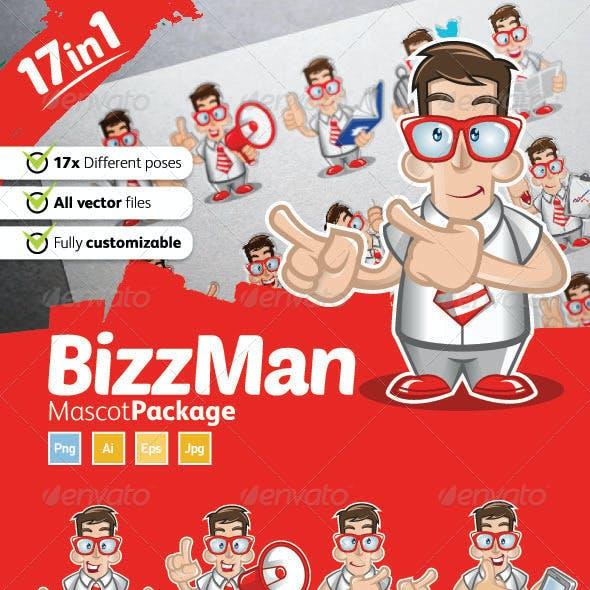 Bizzman Mascot