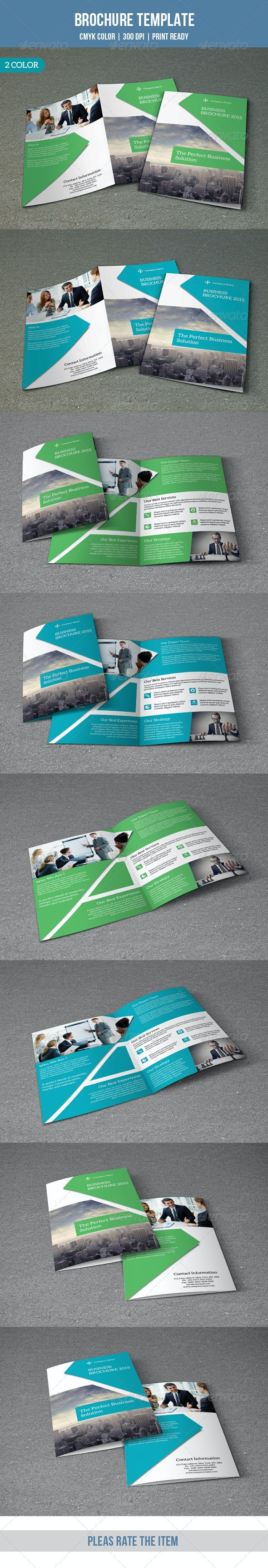 Bifold Business Brochure-V123 - Corporate Brochures