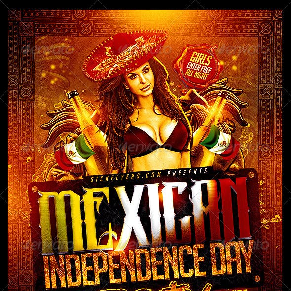 Mexican Independence Day Flyer