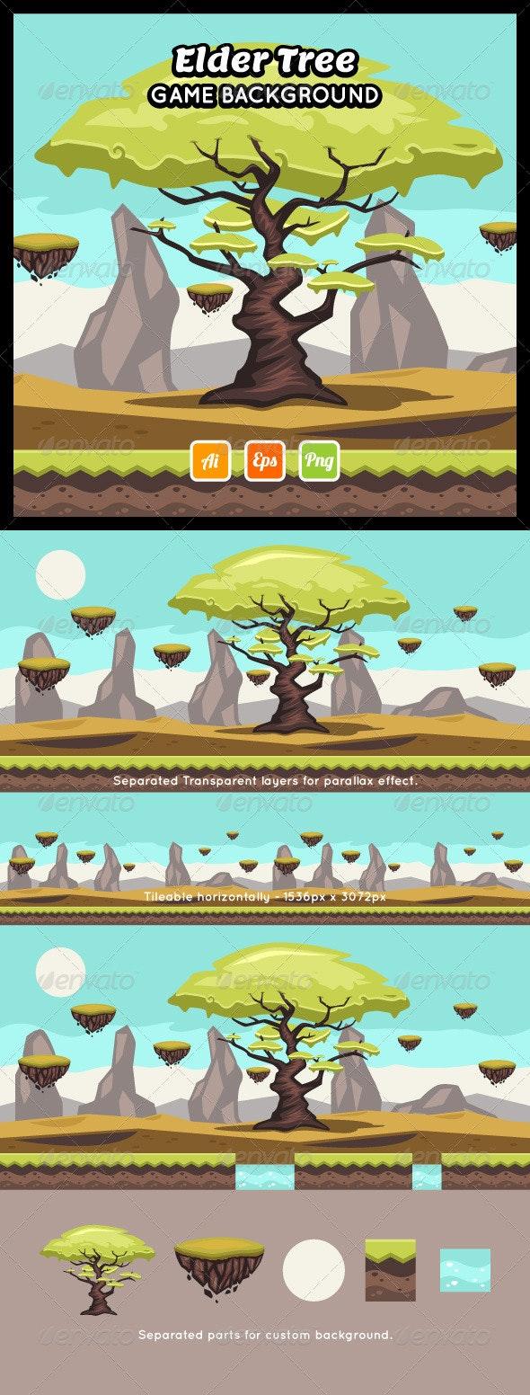 Elder Tree Game Background