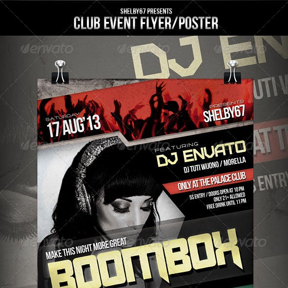 Club Event Flyer / Poster