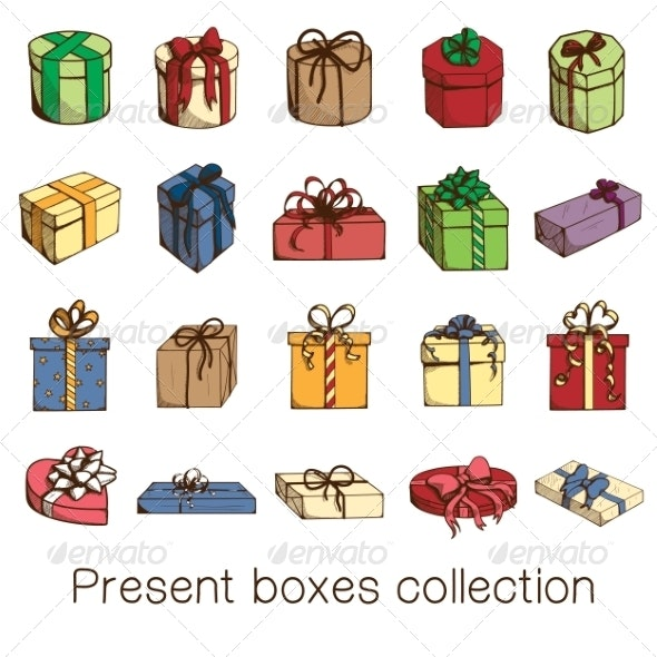 Present Boxes Collection.  - Miscellaneous Seasons/Holidays