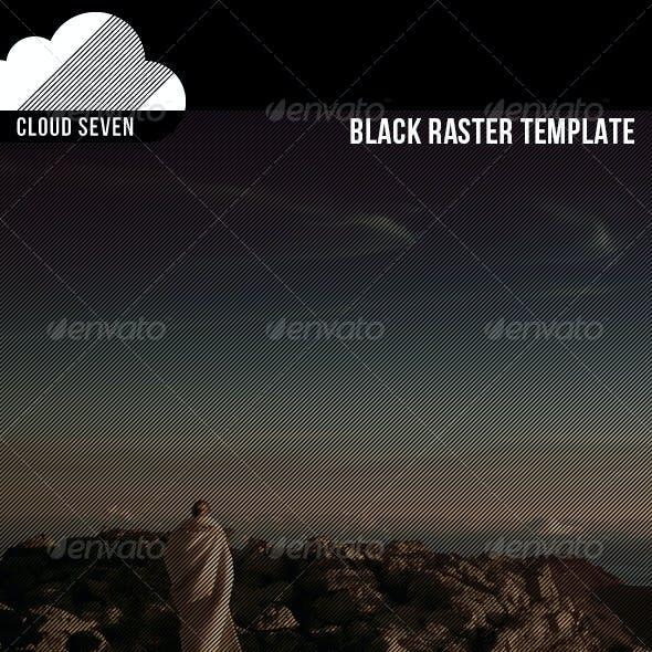 Black Raster Template