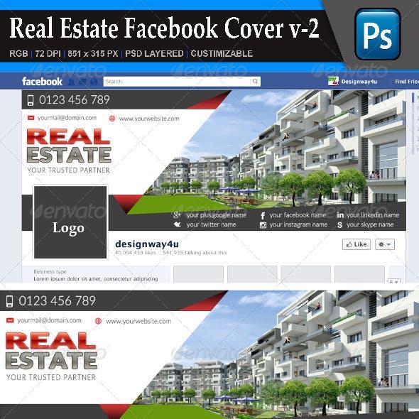 Real Estate Facebook Cover v-2