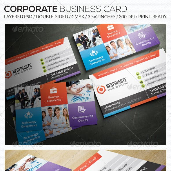 Corporate Business Card - RA55
