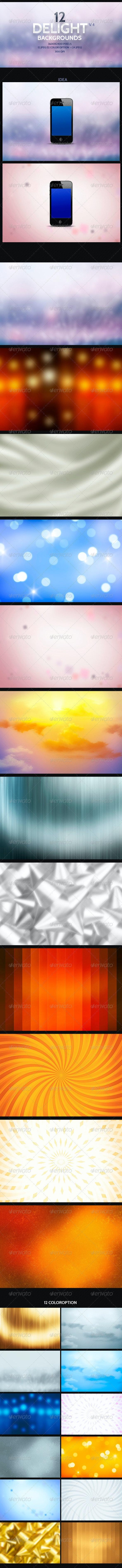 Delight Backgrounds v4 - Backgrounds Graphics