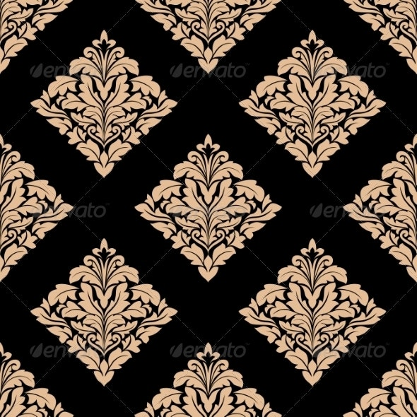 Damask Pattern - Patterns Decorative