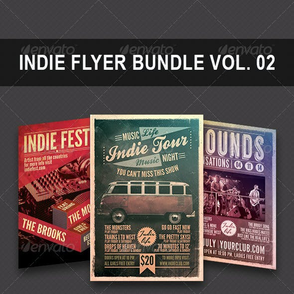 Indie Bundle Flyer Vol 0.2