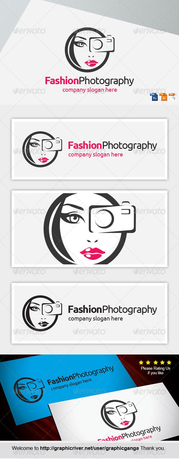 Fashion Photography - Humans Logo Templates